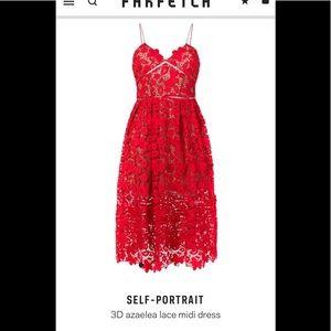 Self portrait dress